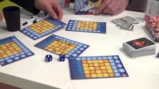 Würfel Bingo overview at Spielwarenmesse 2014