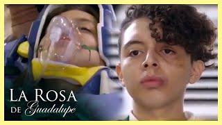 La Rosa de Guadalupe: Daniel ataca a Azucena por no querer ser su novia   Los golpes...