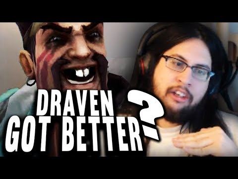 Imaqtpie - DRAVEN IS NOW *THIS MUCH BETTER*