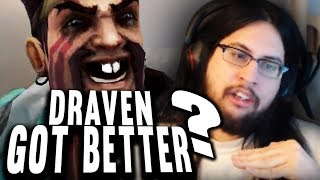 Imaqtpie - DRAVEN IS NOW *THIS MUCH BETTER* 😂