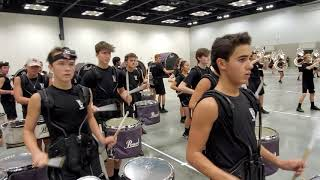 Vandegrift High School Drumline - Last Rehearsal Runthrough - BOA 2019