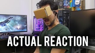 Can Mobile VR be Scary? Gameplay Reaction + Discussion!
