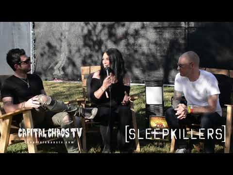 Sam and Damian of SLEEPKILLERS interviewed @ Aftershock 2018