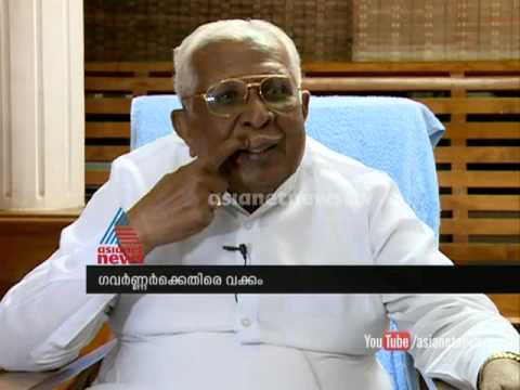 Vakkom  Purushothaman criticise Governor's action : Asianet News Exclusive