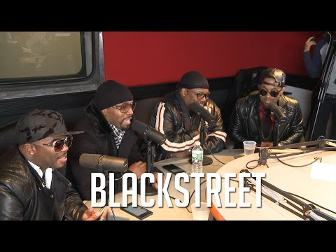 Blackstreet Gets Awkward when Guy is Brought Up!