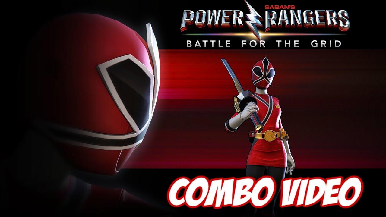 Download I AM RED RANGER!   LAUREN SHIBA 2.4 COMBO VIDEO + LESSON #BFTG #keeponmorphin #samurai #sentai #PS4