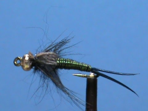 Fly Tying For Beginners A Copper John With Jim Misiura Youtube