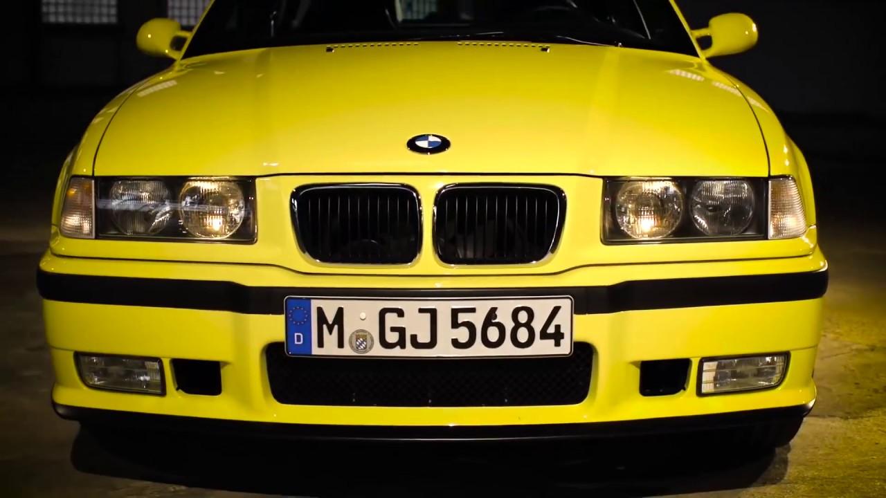 BMW M3 E36 second generation 1992 BMW M3 review walkaround - YouTube