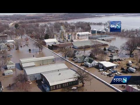 Historic flooding devastates Iowa, Nebraska