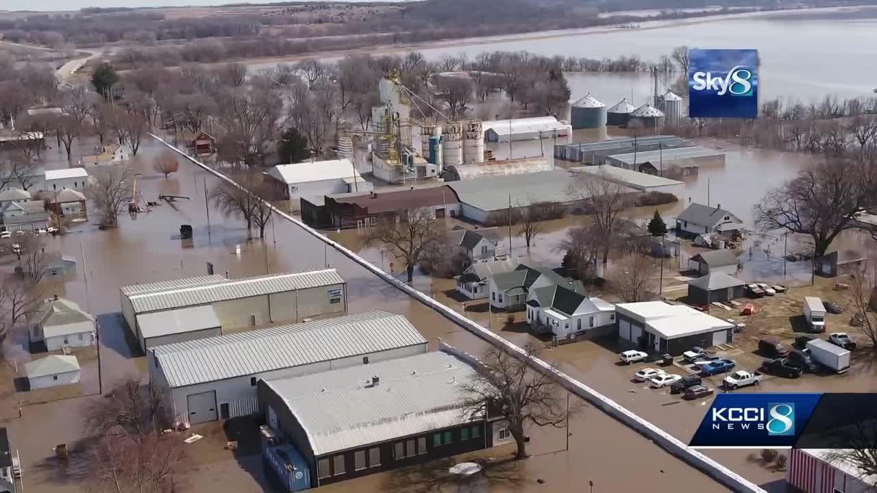 (NEBRASKA, March 2019)  Historic flooding devastates Iowa, Nebraska