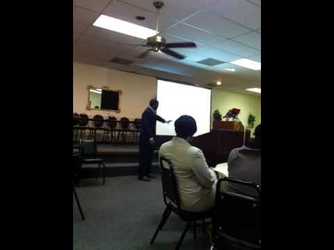 Rev. Robert H. Hughes- Dr. of Ministry  Project-Thesis Public  Presentation / Pt. II