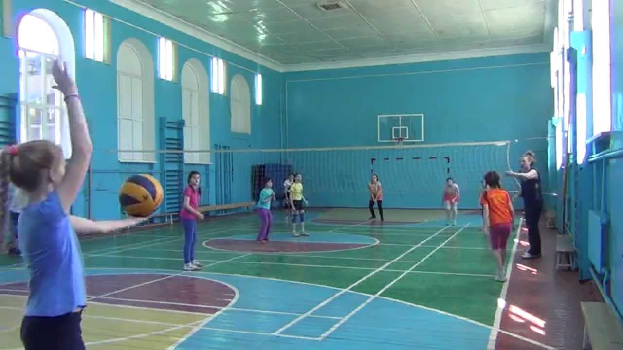 Волейбол в школе Нарышкиной Н.М