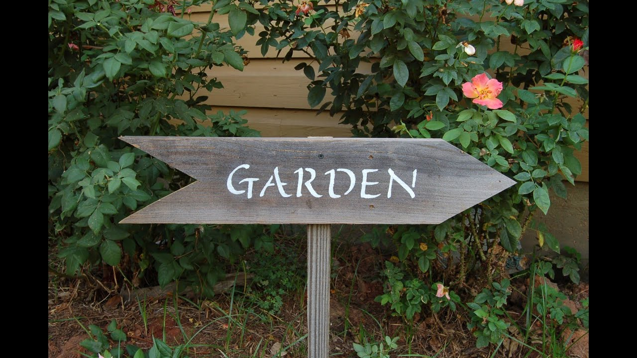 Garden Signs YouTube