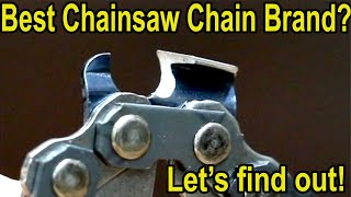 Which Chainsaw Chain Brand is Best? Let's find out! Stihl vs Oregon, Husqvarna, Carlton, Forester