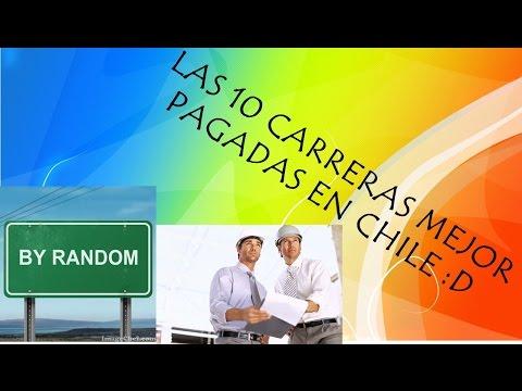 LAS 10 CARRERAS MEJOR PAGADAS EN CHILE