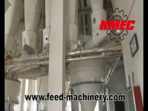 Feed Mill Equipment of Animal Feed Mill Plant Processing
