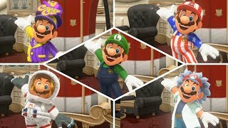 Super Mario Odyssey - All Costumes and Hats!
