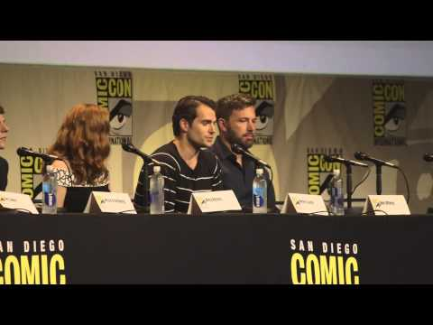 BATMAN V SUPERMAN Panel Comic-Con 2015; Ben Affleck, Zack Snyder, Gal Gadot