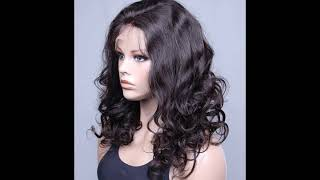 Beautiful European Curly 100% Premium Brazilian Human Hair Lace Front Wig