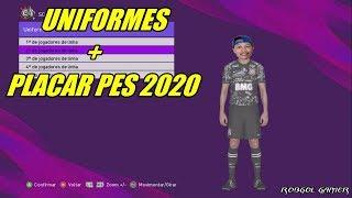 FRANK PATCH - ATUALIZAÇÃO DE UNIFORMES + PLACAR PES 2020 - PES 2018 - XBOX 360
