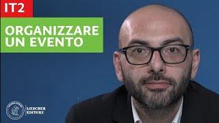 Italiano per stranieri - Organizzare un evento