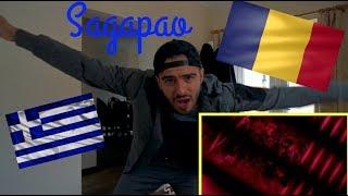 BRITISH REACTION TO GREEK/ROMANIAN MUSIC...ALAMA x NICOLE CHERRY x PACHA MAN - SAGAPAO