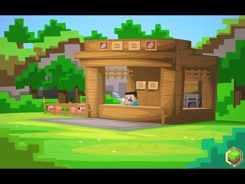 Автоматический магазин в Minecraft PE 1.1 /0.14.0 [APK] [БЕЗ МОДОВ] - Механизмы В Майнкрафт ПЕ