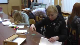 Как сшивают документы в Арбитражном суде(Фрагмент учебной практики. 2011 г., 2015-10-30T08:46:01.000Z)