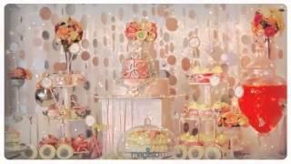 Сладкий стол  Свадьба в стиле  Гламур