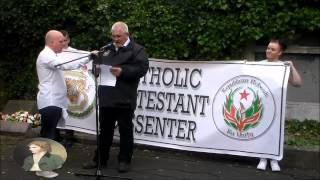 RNU Martin Óg Meehan Delivers Oration at Henry Joy Commemoration 2014