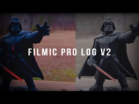 iPhone Filmmaking - FiLMiC Pro LogV2