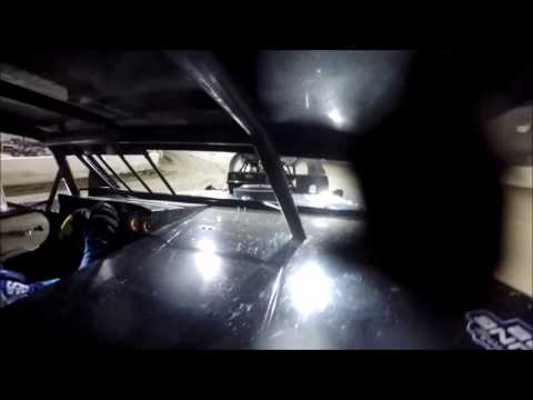 GoPro In-Car Camera with the #42 of Clint Young in UMP Pro Modified Feature at I-55 Raceway