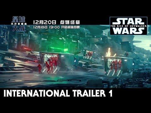 Star Wars The Rise of Skywalker International Trailer 1