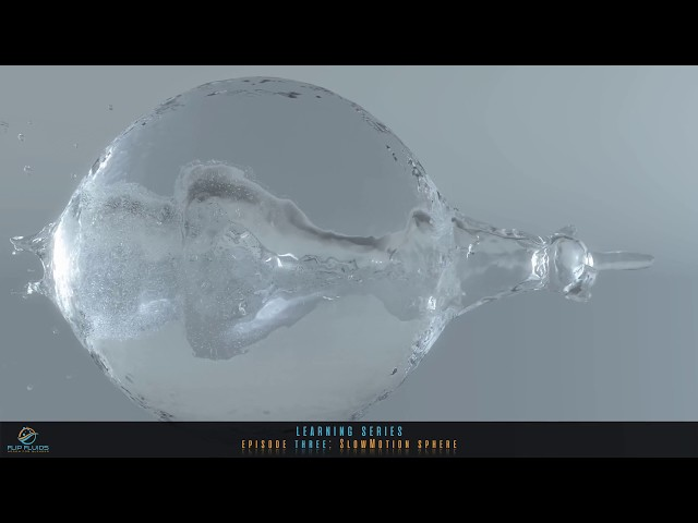 FLIP fluids | #3 SlowMotion sphere
