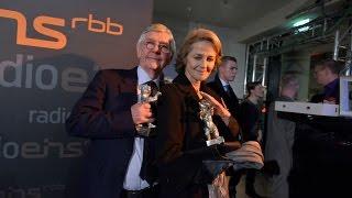 Berlinale Nighttalk mit den Gewinnern des  Silbernen Bären Charlotte Rampling und Tom Courtenay
