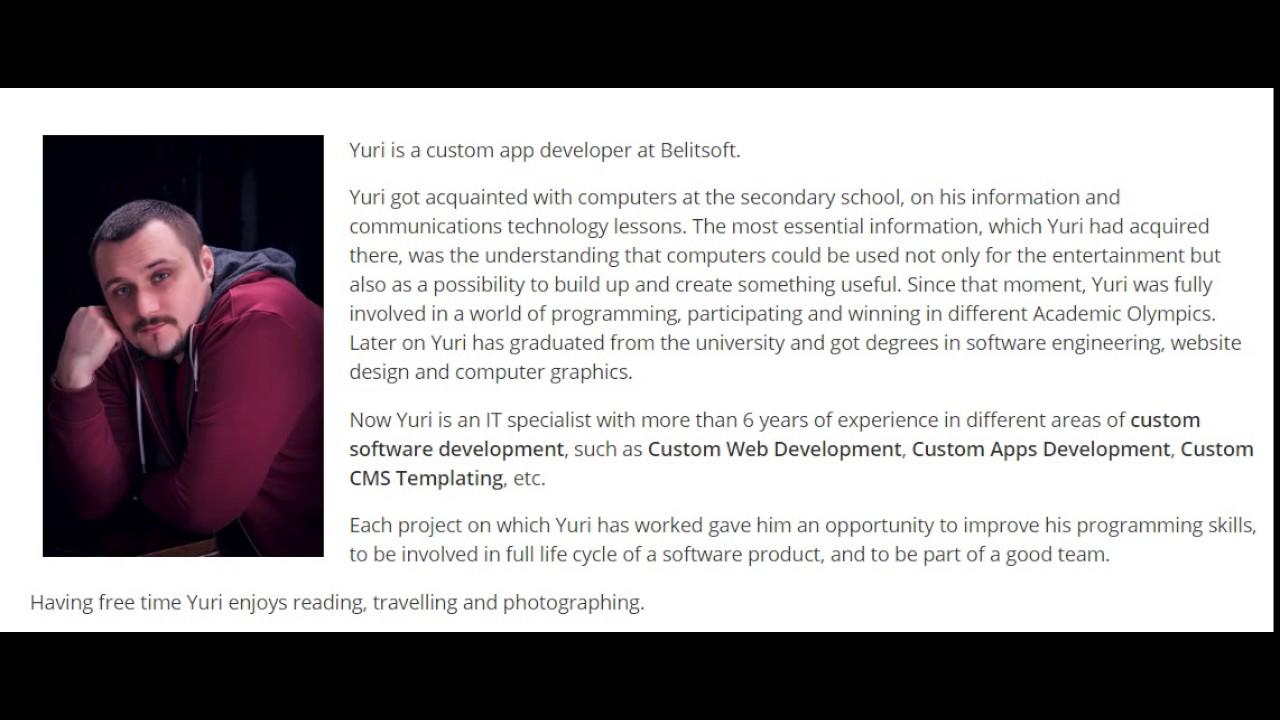 PHP Developer Yuri