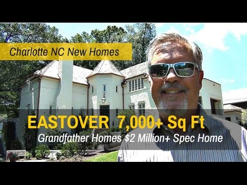 Charlotte Luxury Homes Review - Quick Move Eastover Mansion