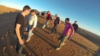 Tour de 4x4 sur les dunes de Merzouga