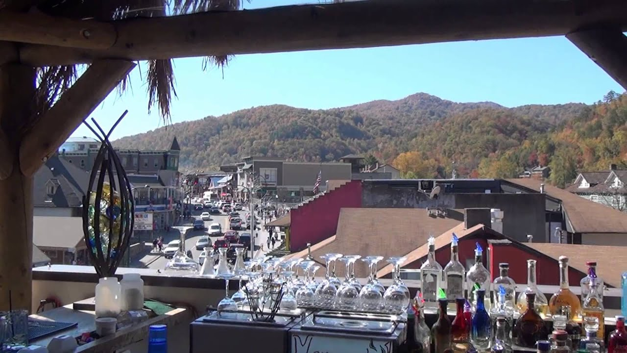 Loco Burro Cantina Gatlinburg Tennessee Fall Colors Peak