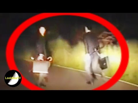 Men In Black Caught On Camera? UK Flying Saucer Video!