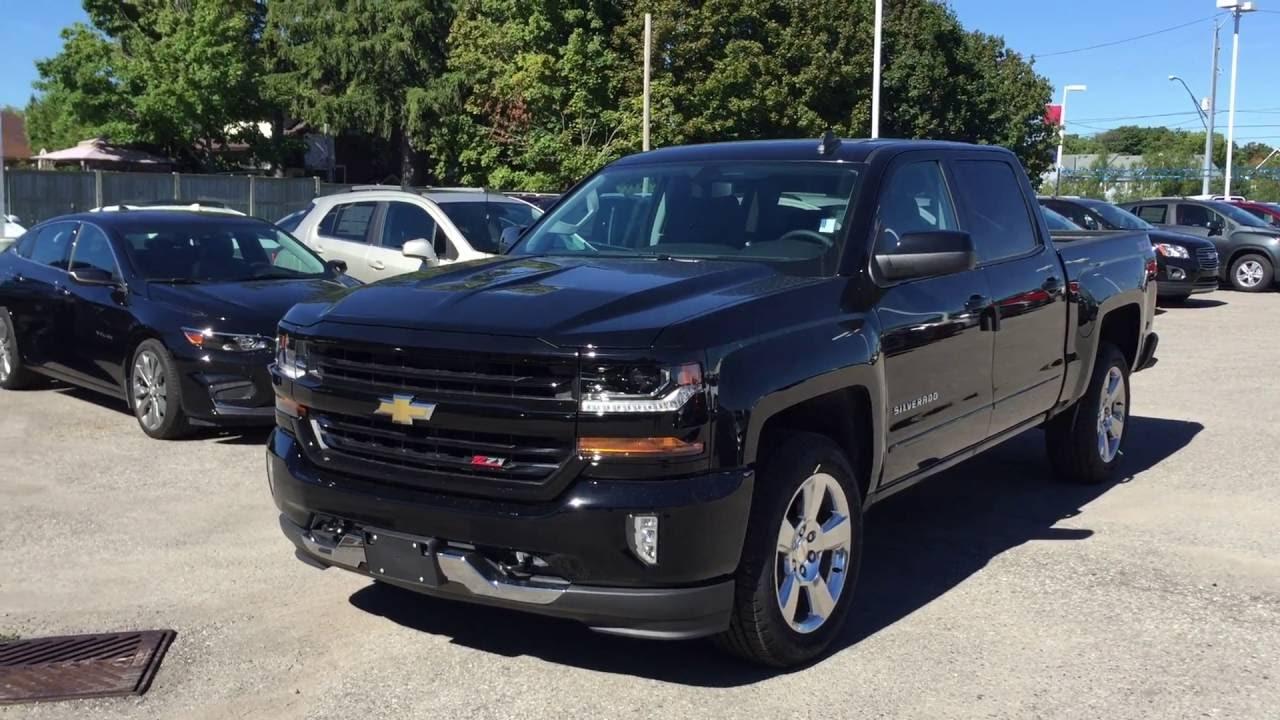 2017 Chevrolet Silverado 1500 4wd Crew Cab Lt Black Roy Nichols