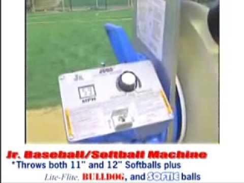 Jugs Jr Baseball Softball Pitching Machine