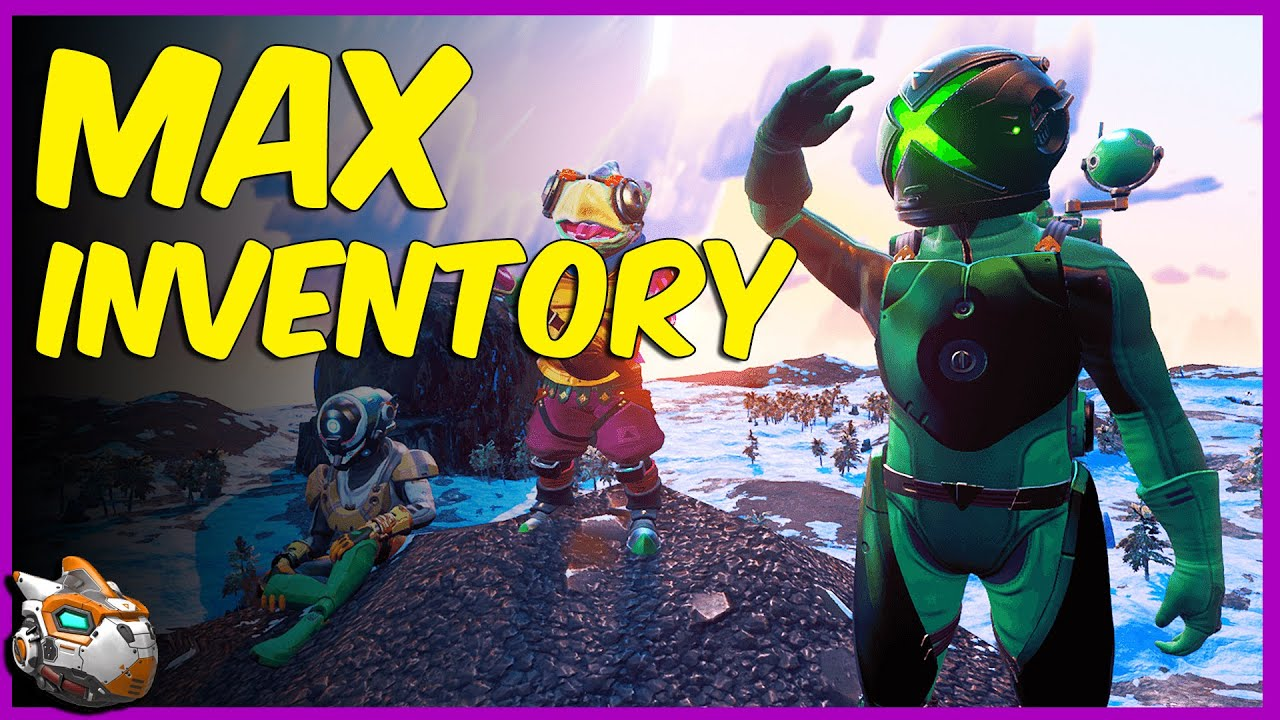 How to Get Extra Inventory in No Man's Sky Desolation Update 2020
