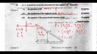 csec cxc maths past paper 2 question 4b may 2013 exam solutions act math sat math