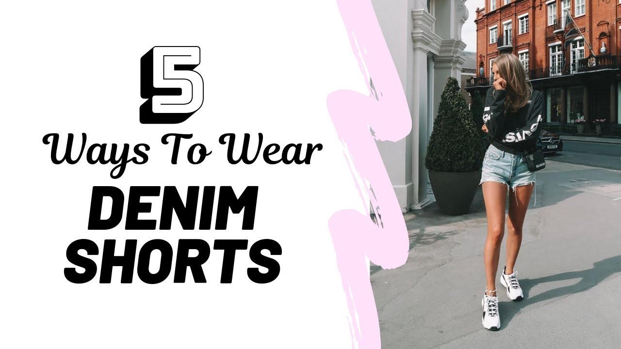 [VIDEO] - HOW TO STYLE DENIM SHORTS // Lookbook & Try On | Sinead Crowe 4