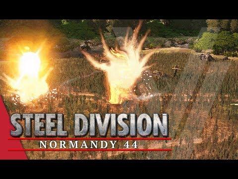 Scots Saving Scots! Steel Division: Normandy 44 Gameplay (Caumont l'Éventé, 2v2)