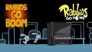 #21 Rabbids Go Home - Rabbids Go Boom - Video Game - kids movie - Gameplay - Videospiel