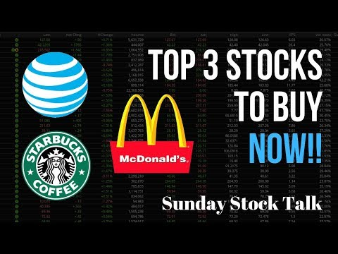 Top 3 Stocks You Need To Buy NOW & Why! | Sunday Stock Talk