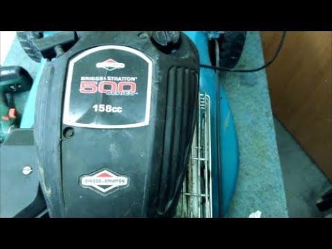 Ремонт газонокосилки BRIGGS & STRATTON 500 Series 158cc плавают обороты   Repair Lawnmower