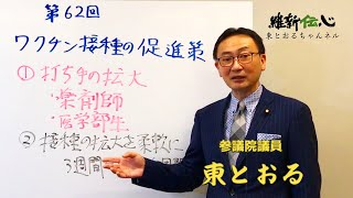 2021 05 13  ワクチン接種の促進策   東徹(日本維新の会)